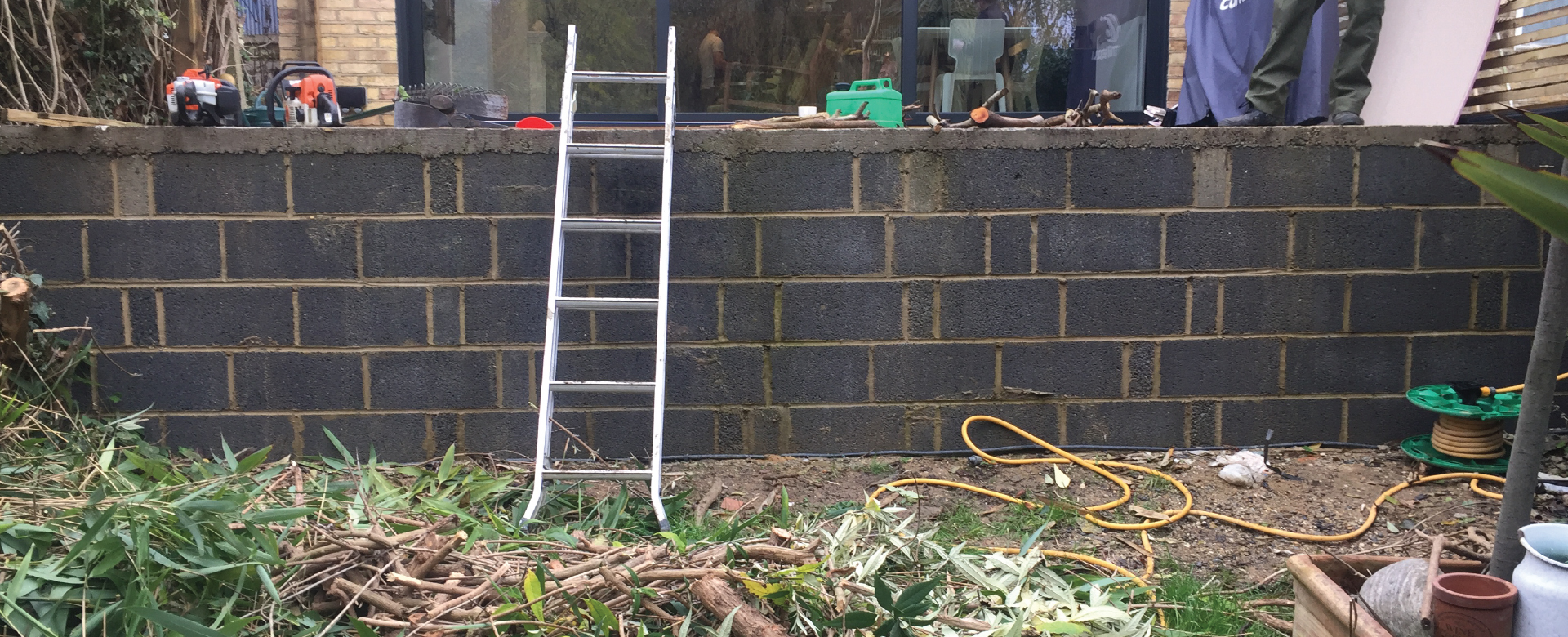 Before Image Decking, Greenwich SE10
