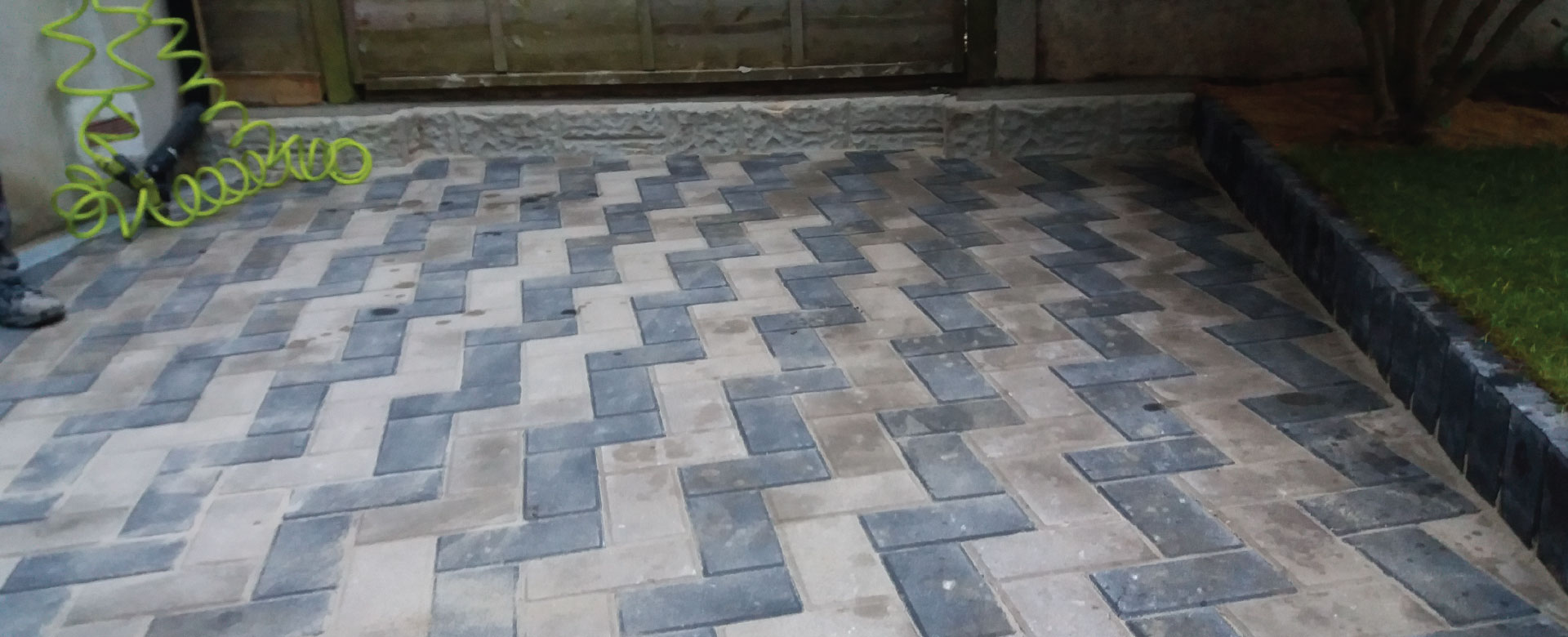 After Image Patio Laying, Stamford Hill, N16