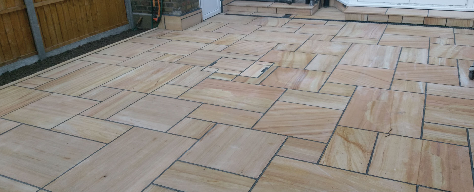 After Image Patio Laying, Edmonton, N18